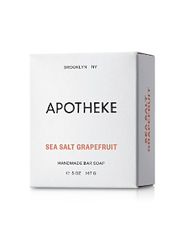 APOTHEKE - Sea Salt Grapefruit Bar Soap, 5 oz.