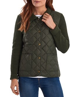 Barbour - Moors Knit & Quilted Jacket