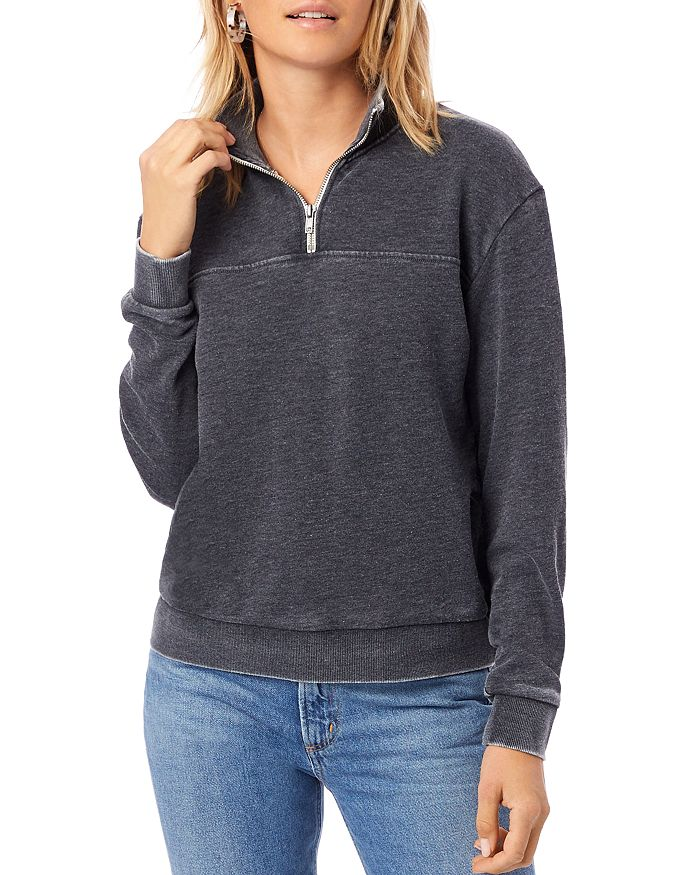 ALTERNATIVE - Quarter-Zip Sweatshirt