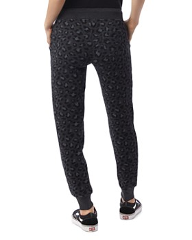 ALTERNATIVE - Leopard Print Fleece Sweatpants