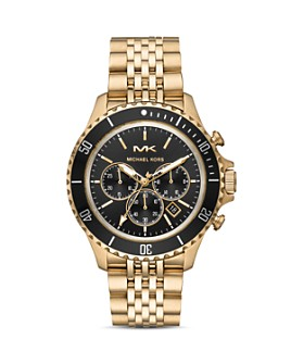 Michael Kors - Bayville Gold-Tone Chronograph, 44mm
