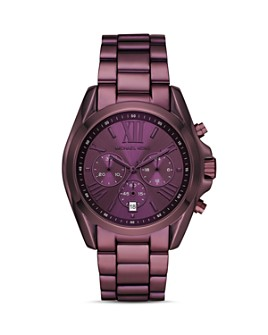 Michael Kors - Bradshaw Purple Chronograph, 43mm