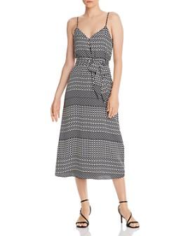 Joie - Shira Mixed-Striped Midi Dress