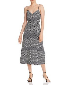 Joie - Shira Mixed-Striped Midi Dress