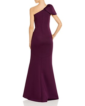 Eliza J - Puffed One-Shoulder Gown