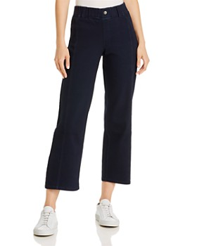 HUE - Denim Culotte Pants