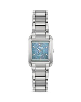 Citizen - Bianca Light Blue Mother-of-Pearl Dial Watch, 22mm x 28mm