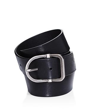 Frye Men\\\'s D-Shape Buckle Leather Belt-Men