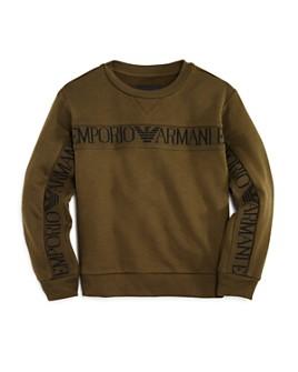 Armani - Boys' Logo-Stripe Sweatshirt - Little Kid, Big Kid