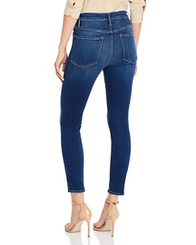 FRAME - Ali High-Rise Cigarette Jeans in Marathon - 100% Exclusive