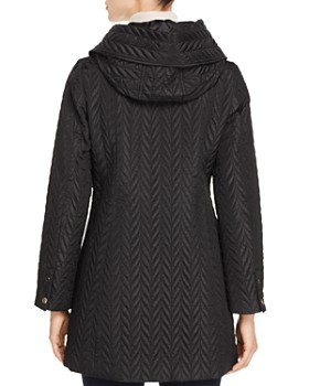 kate spade new york - Chevron-Quilted Coat
