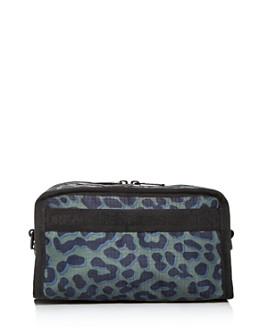 LeSportsac - Gabrielle Leopard-Print Nylon Box Cosmetic Case
