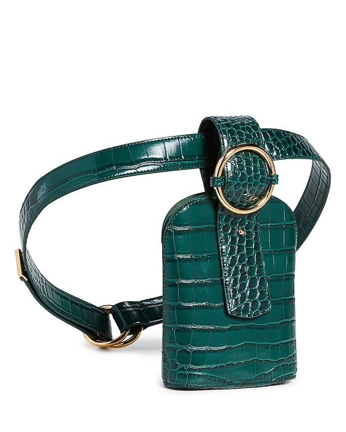 PARISA WANG - Addicted Croc-Embossed Belt Bag