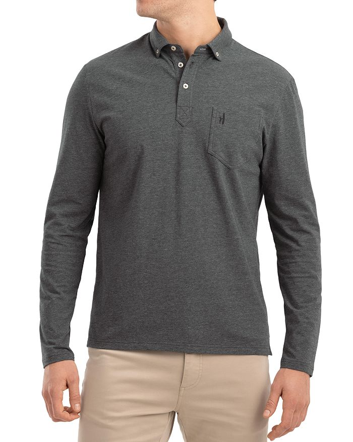 Johnnie-O - Vince Long-Sleeve Classic Fit Button-Down Polo Shirt