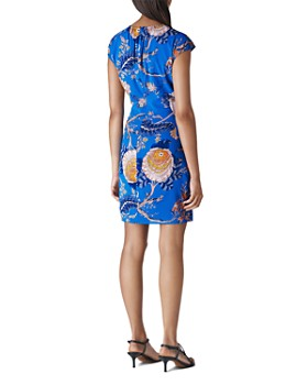 Whistles - Exotic Floral Silk Blend Dress