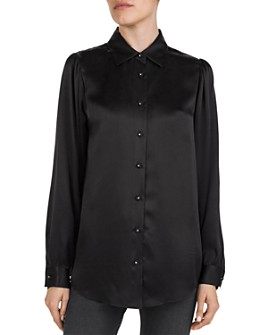The Kooples - Silk Button-Down Shirt