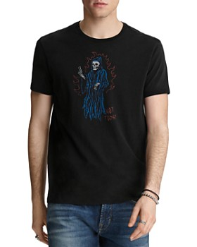 John Varvatos Star USA - Vintage-Inspired Not Today Graphic Tee