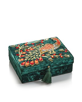 Shishi - Peacock Jewelry Box
