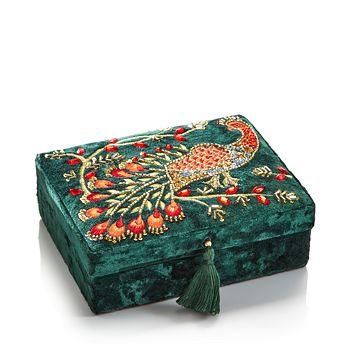 Shishi - Peacock Jewelry Box