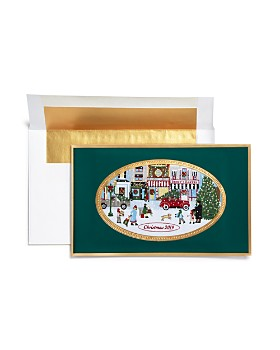 Masterpiece - 2019 Commemorative Village Brett Greeting Cards, Box of 6