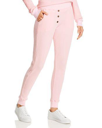 Donni - Henley Knit Jogger Pants