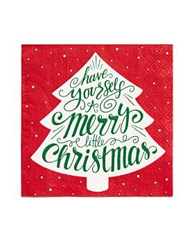 Design Design - Merry Little Christmas Napkin, Set of 20