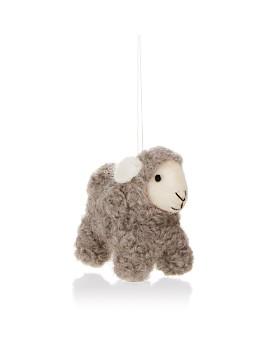 TO THE MARKET - Felt Sheep Ornament