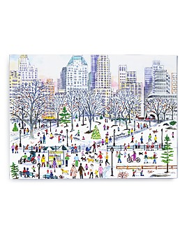 Galison - Winter in Central Park By Michael Storrings 1000 Piece Puzzle