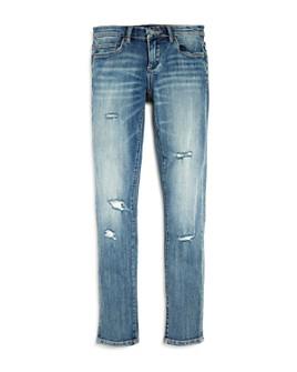 BLANKNYC - Girls' Cropped Distressed Jeans - Big Kid