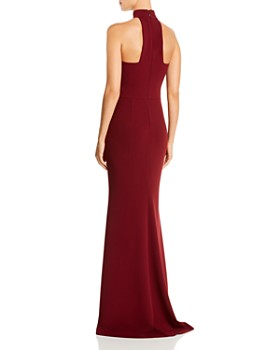 AQUA - Halter-Neck Gown - 100% Exclusive