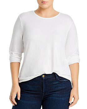 Eileen Fisher Plus - Long Sleeve Knit Top