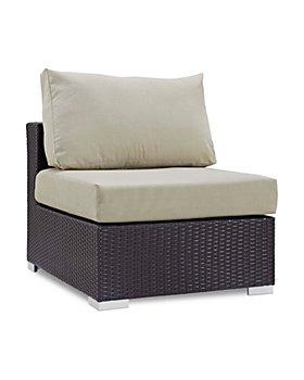 Modway - Convene Outdoor Patio Armless Chair