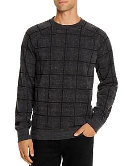 Threads 4 Thought - El Paso Plaid-Print Sweatshirt