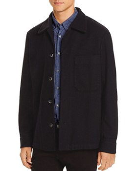 Barena - Cedrone Regular Fit Fleece Overshirt Jacket