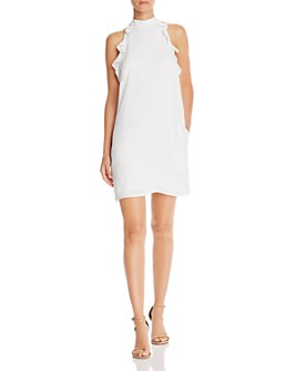 Jack by BB DAKOTA - High-Neck Ruffled Dress