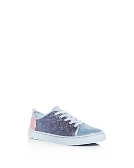 TOMS - Girls' Lenny Glitter Color-Block Low-Top Sneakers - Toddler, Little Kid, Big Kid