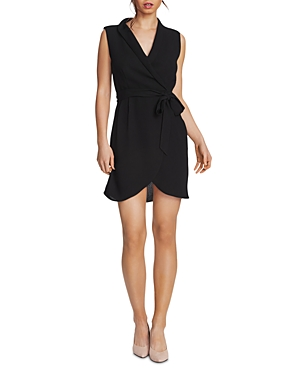 Image of 1.state Belted Faux-Wrap Dress