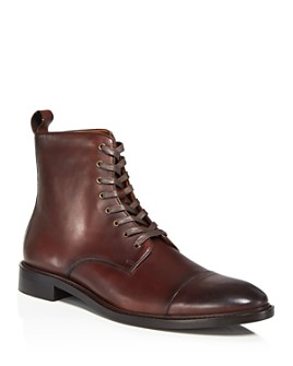 The Men's Store at Bloomingdale's - Men's Leather Cap-Toe Boots - 100% Exclusive