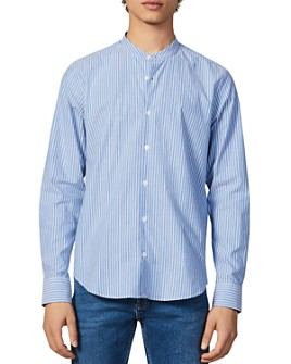 Sandro - Mao Stripes Slim Fit Shirt