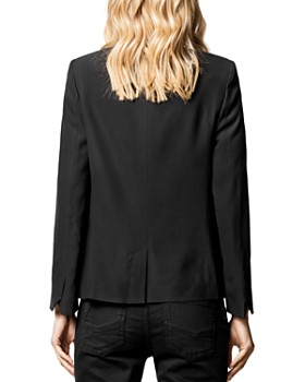 Zadig & Voltaire - Vedy Single-Button Jacket
