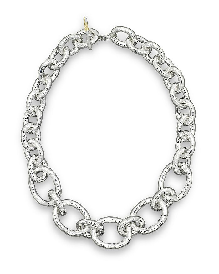 Ippolita STERLING SILVER BASTILLE CHAIN NECKLACE