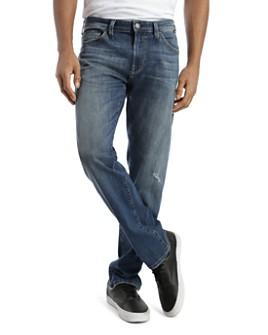 Mavi - Zach Straight Fit Jeans in Dark Blue Authentic Vintage