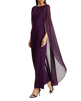 Ralph Lauren - Cape-Overlay Jumpsuit - 100% Exclusive