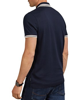 Ted Baker - Kazza Stripe Trim Regular Fit Polo Shirt