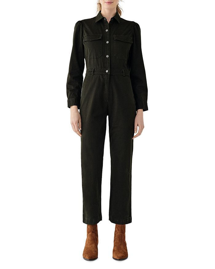DL1961 - Freja Cropped Jumpsuit in Forester