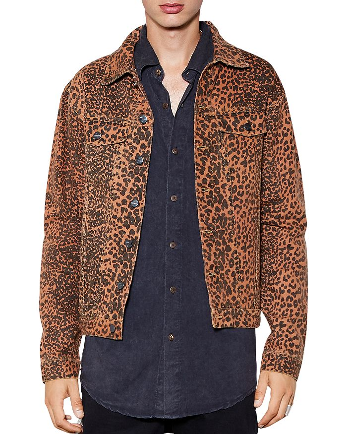 The People Vs. Wildcat Slim Fit Denim Jacket In Wild Cat