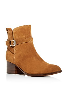 rag & bone - Women's Walker Buckle Block-Heel Booties