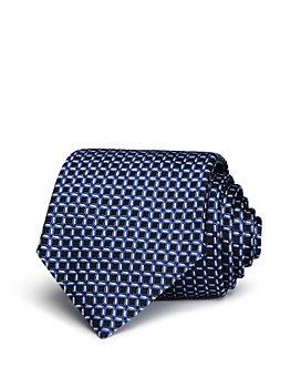 Armani - Square Pattern Classic Tie