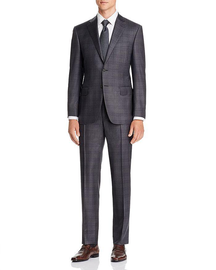 Canali - Siena Plaid Classic Fit Suit
