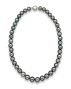 "Bloomingdale's - Tahitian Black Pearl Necklace, 18"" - 100% Exclusive"